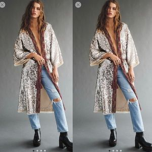 Free People Light is Coming Duster NWT